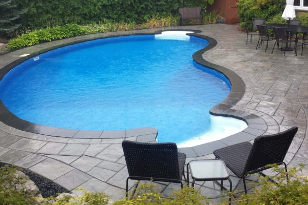 durham foxy landscaping driveway backyard pool 2